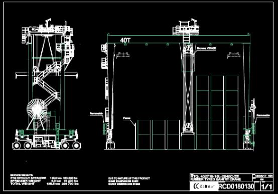 CAD机械图纸之吊车设计方案