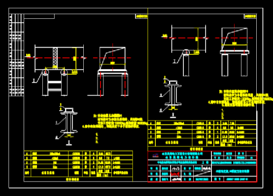 CAD机械图纸之烟道布置