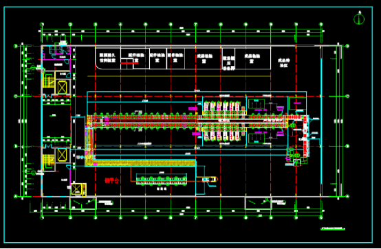 CAD图纸快速查看之壁挂炉生产线