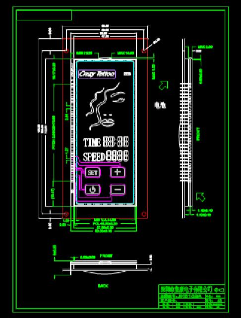 建筑设计CAD图纸之电极管工程图纸