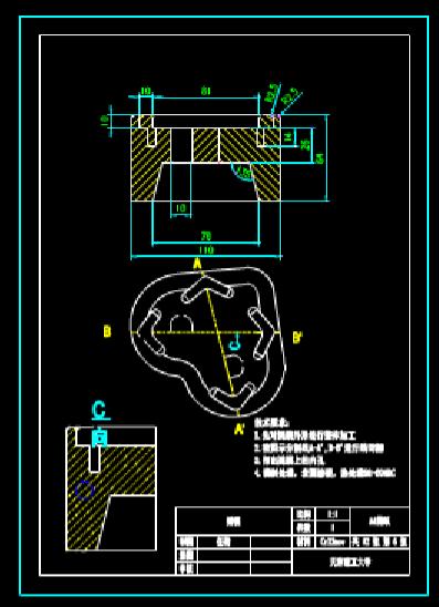CAD机械图下载之机械零部件
