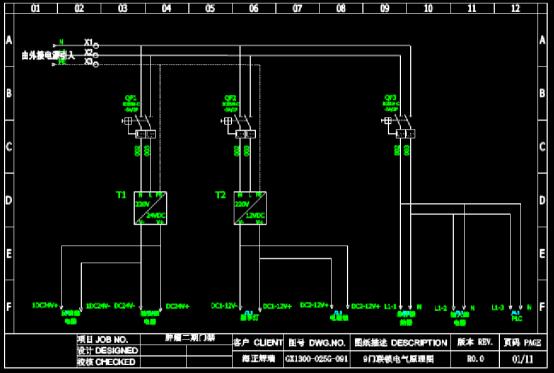 CAD下载图纸之电气原理图