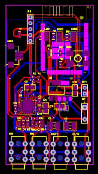 CAD下载图纸之收音机电路板设计方案
