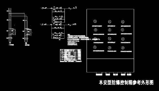 CAD下载图纸之可逆皮带控制箱