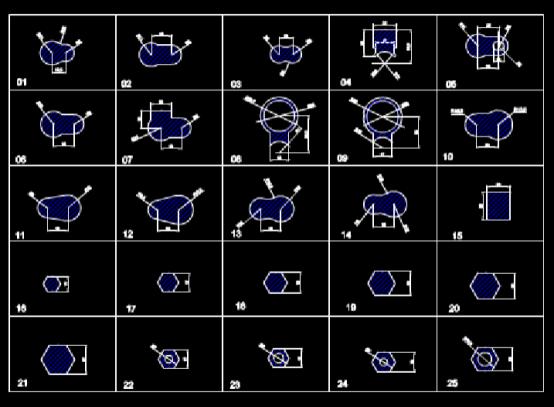CAD机械图下载之机械零部件图