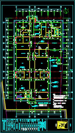 建筑CAD图纸下载之幼儿园各楼层设计图