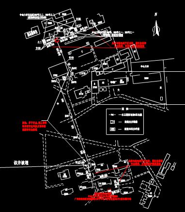 某工程项目总体规划设计的建筑设计CAD图纸