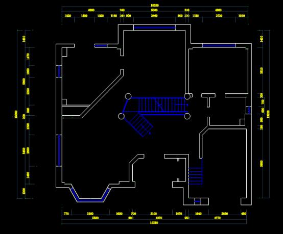 CAD绘制室内设计图纸之园区设计图