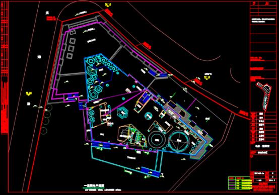 CAD建筑电气设计图纸之CAD弱电图