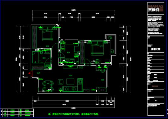 某小区楼盘设计的CAD建筑施工图