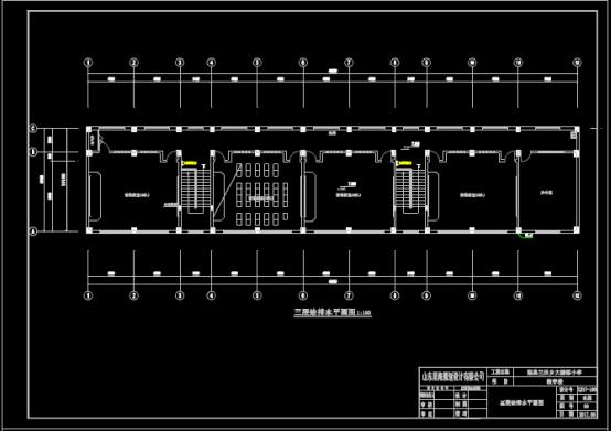 某小学的给排水CAD图纸