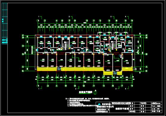 建筑CAD图纸下载素材之某地施工图设计