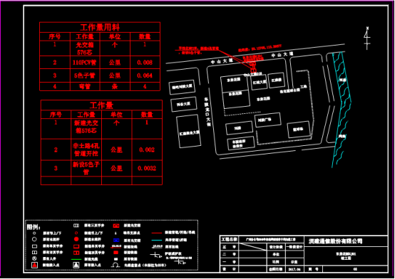 CAD建筑图纸下载素材之某地的东景花园设计图