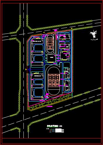 外网电气图的CAD建筑图纸下载资源