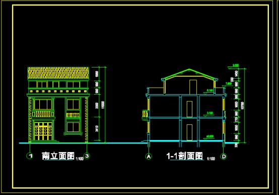 别墅设计图的CAD下载图纸资源