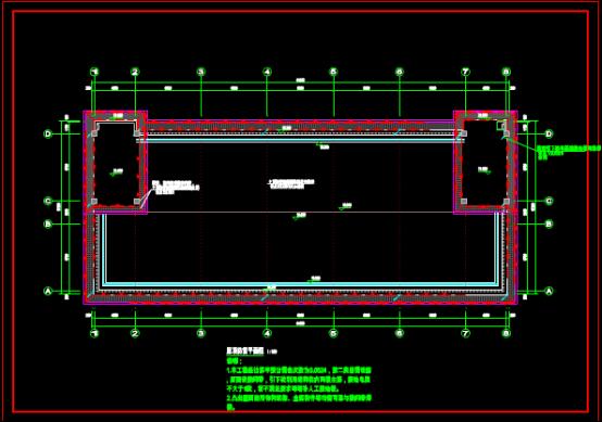 宿舍电气图的CAD建筑图纸下载资源