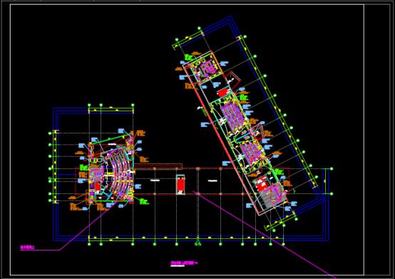 某楼房的暖通设计CAD图纸学习参考