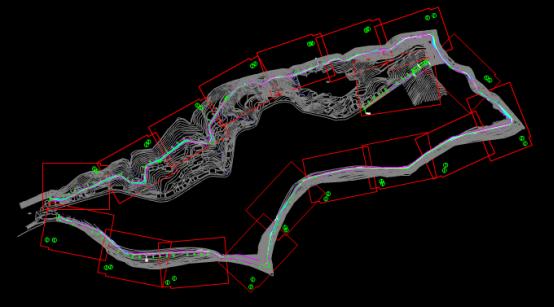 某平面分图的建筑设计CAD图纸绘图技巧