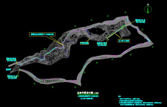 某项目总体设计图的建筑设计CAD图纸参考
