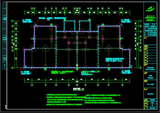 某建筑电气施工项目的CAD图纸下载