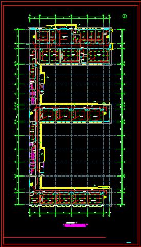 学校教学楼的电气CAD图纸下载