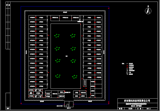 某看守所的建筑设计CAD图纸下载资源