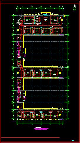 学校教学楼的电气设计CAD图纸下载