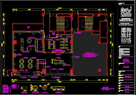 室内装修施工CAD图纸的绘制方法