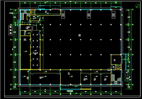 某工程的暖通设计CAD图纸下载