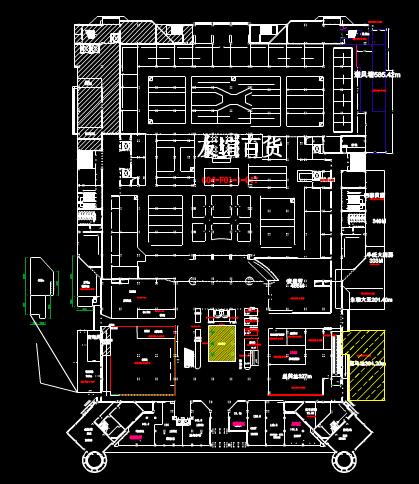 某百货公司CAD图纸查看方法