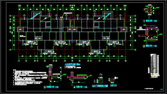 某综合项目CAD图纸查看方法