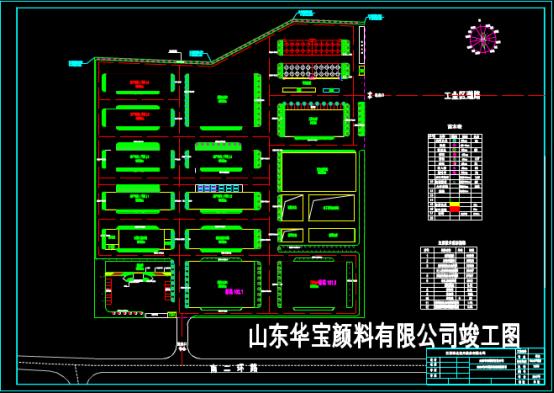 某景观设计竣工CAD图纸学习借鉴