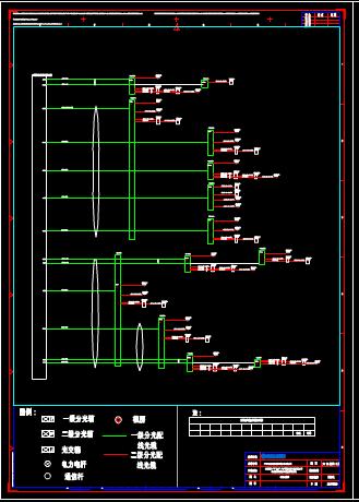 某机房CAD图纸设计资源
