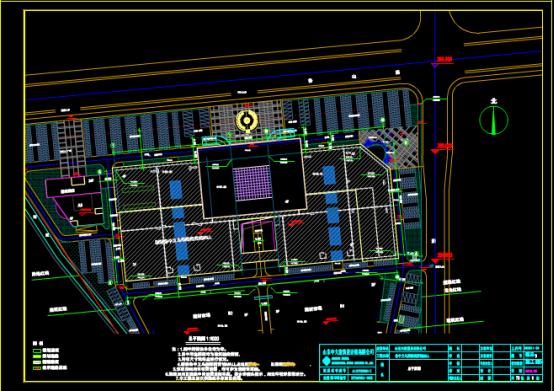某区域地块总平面CAD图纸下载