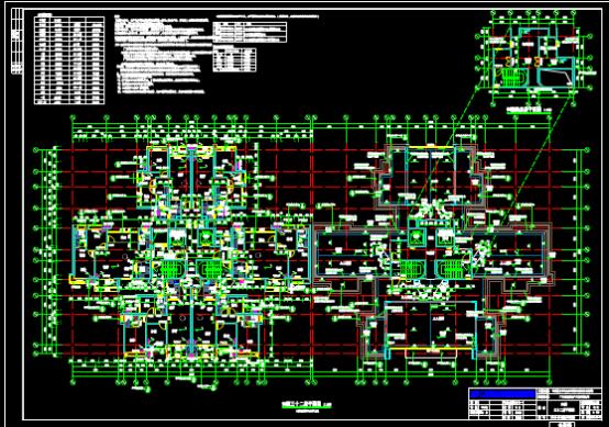 楼房设计CAD图纸下载资源