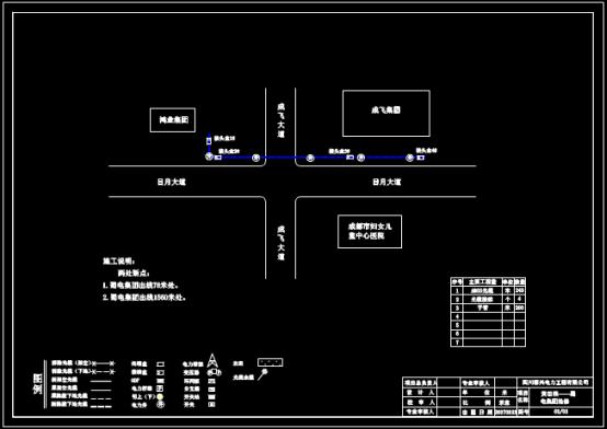 工程项目抢修设计CAD图纸绘制