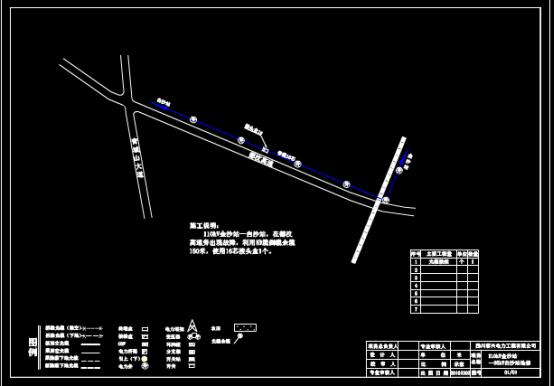 配电站抢修设计CAD图纸的设计方法