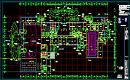 建筑一层平面设计CAD图纸设计参考