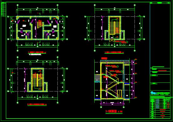 地下室设计CAD图纸下载资源