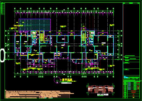 建筑总设计CAD图纸下载资源