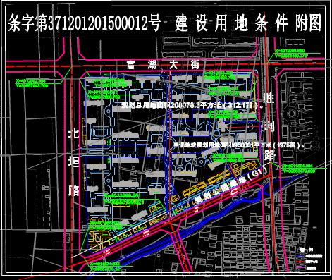 区域规划设计CAD图纸下载