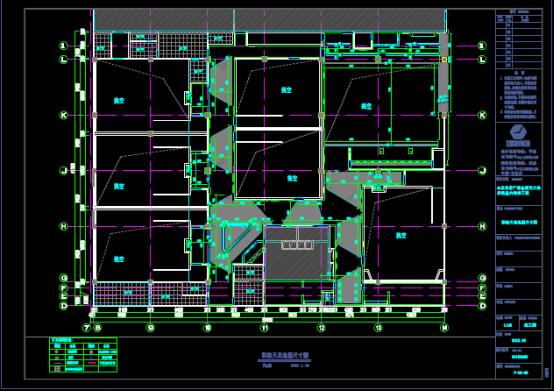 建筑造型尺寸CAD图纸下载