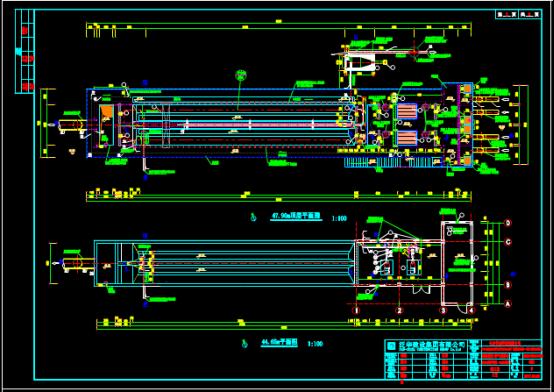 环保公司建筑设计CAD图纸查看