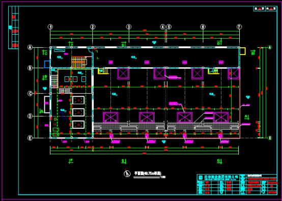 污水处理池CAD图纸下载资源