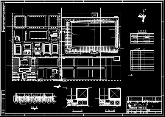 建筑总平面布置CAD图纸查看