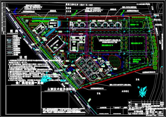 设计项目总平面布置CAD图纸