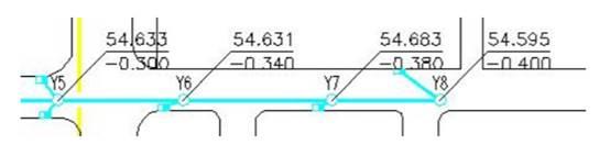 CAD软件中如何标注井底标高?