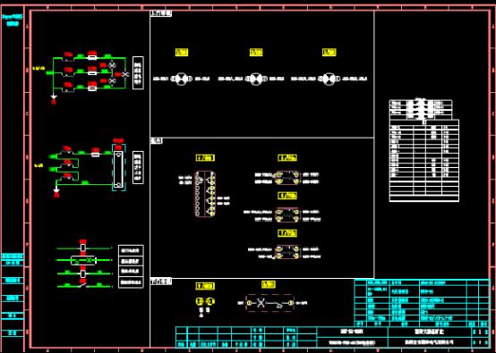 电容柜CAD图纸下载资源