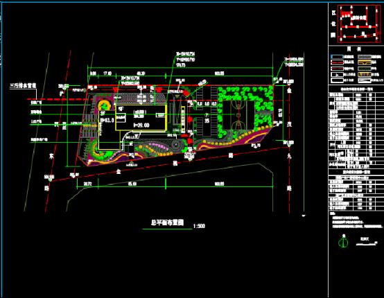 档案馆景观CAD下载图纸