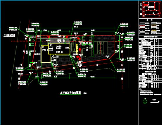 档案库总图建筑设计CAD图纸下载